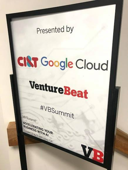 CI&T and Google Cloud at Venture Beat banner