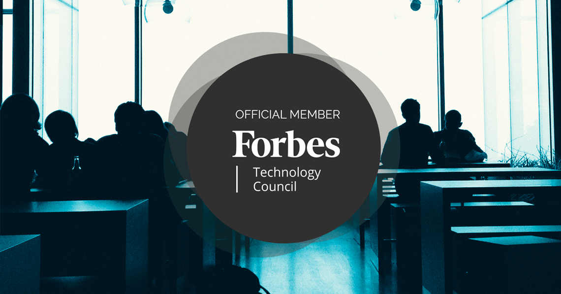 Forbes Technology Council Official Member badge