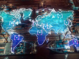 Global digital map