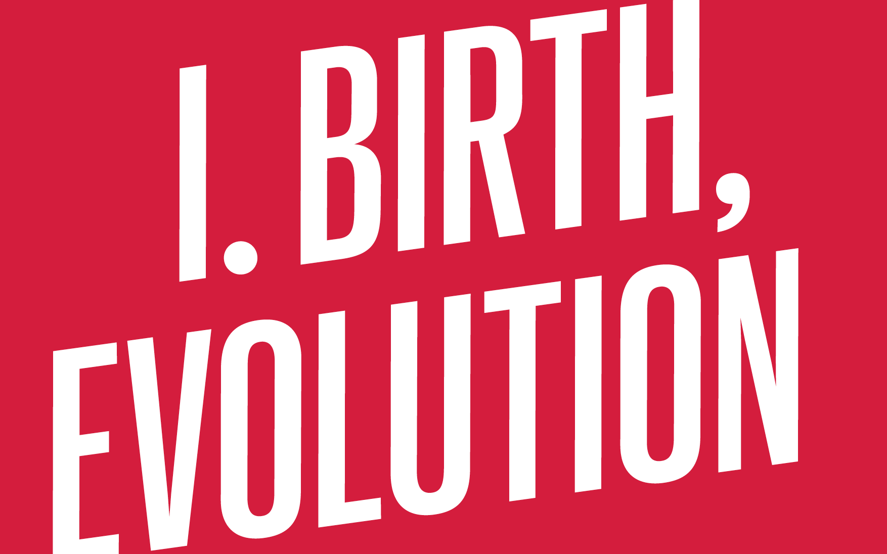 Birth, Evolution chapter cover