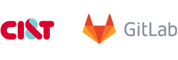 CI&T and GitLab logo