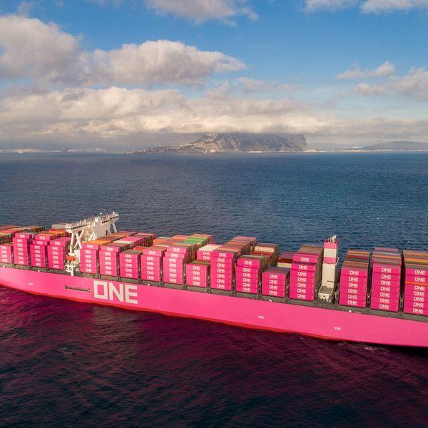 Ocean Network Express shipping service
