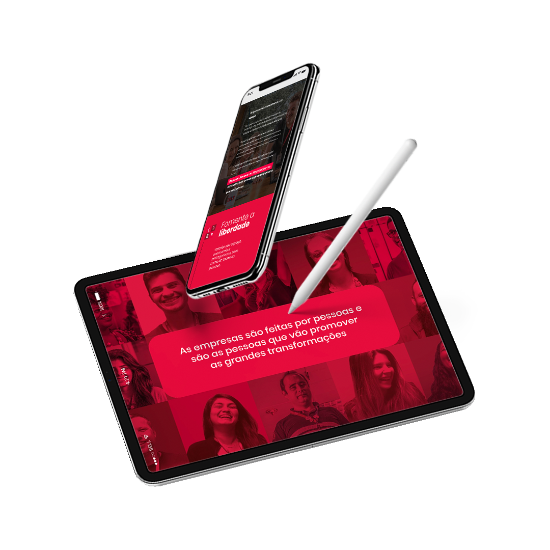 A mockup of the People Ready ebook on a tablet and a phone