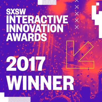SXSW Interactive Innovation Award winner of 2017
