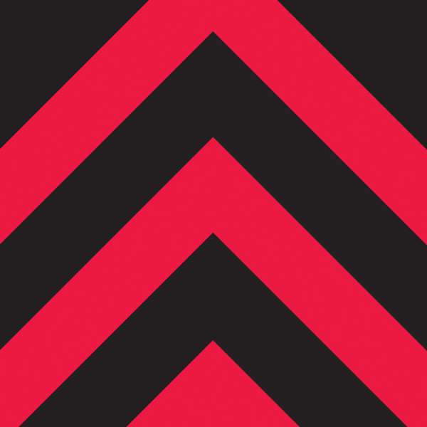 Dark background with red lines moving to the top