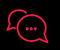 Balloon conversation icon