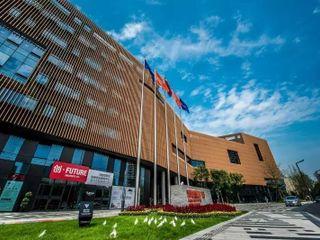 China chengdu office outside view