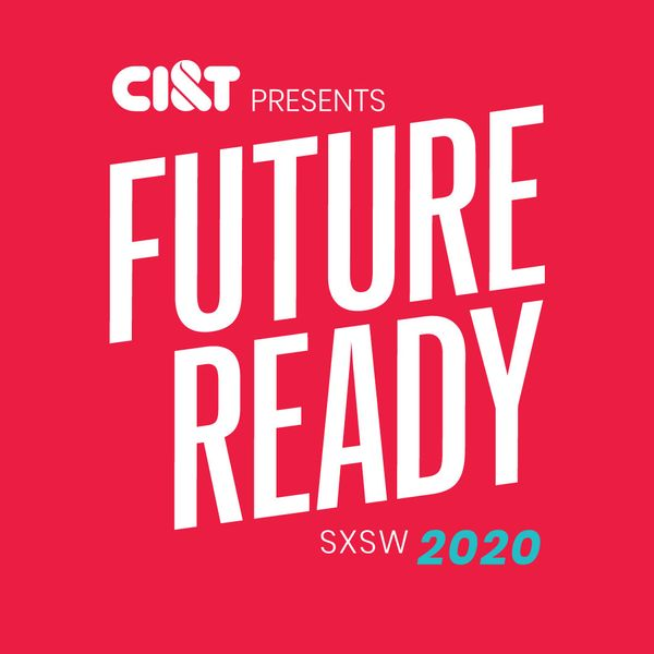 CI&T Future Ready logo in a red background